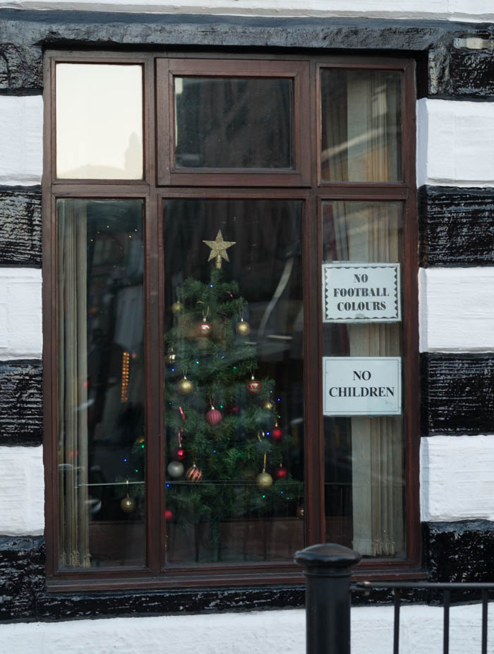 Loreburn Street, Dumfries.Merry Christmas to one and all (except children and those wearing football colours)>