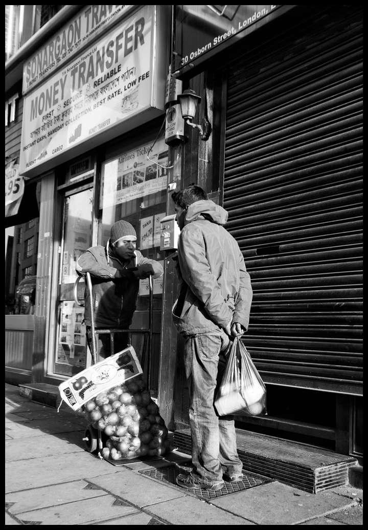 Osborn Street, London.