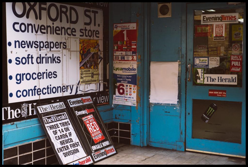 Oxford Street, Glasgow.
